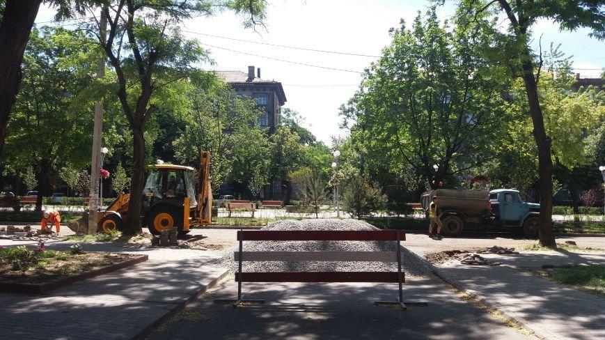 Как на проспекте Маяковского в Запорожье ремонтируют дорогу за 6 миллионов гривен, – ФОТОРЕПОРТАЖ, фото-8