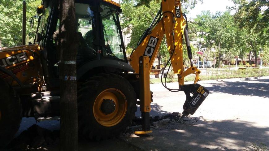 Как на проспекте Маяковского в Запорожье ремонтируют дорогу за 6 миллионов гривен, – ФОТОРЕПОРТАЖ, фото-4