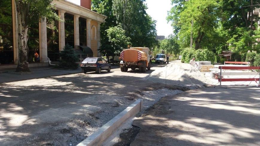 Как на проспекте Маяковского в Запорожье ремонтируют дорогу за 6 миллионов гривен, – ФОТОРЕПОРТАЖ, фото-18