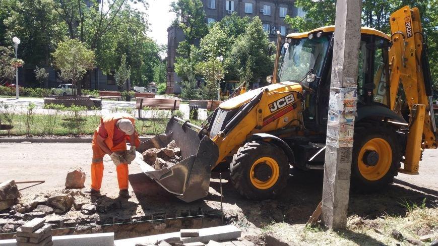 Как на проспекте Маяковского в Запорожье ремонтируют дорогу за 6 миллионов гривен, – ФОТОРЕПОРТАЖ, фото-9