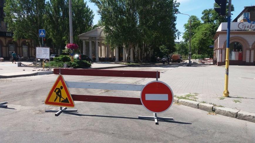Как на проспекте Маяковского в Запорожье ремонтируют дорогу за 6 миллионов гривен, – ФОТОРЕПОРТАЖ, фото-20