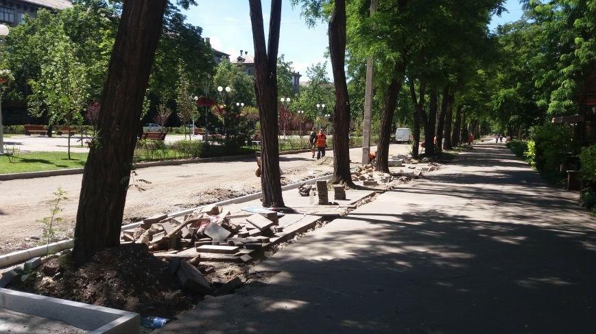 Как на проспекте Маяковского в Запорожье ремонтируют дорогу за 6 миллионов гривен, – ФОТОРЕПОРТАЖ, фото-15