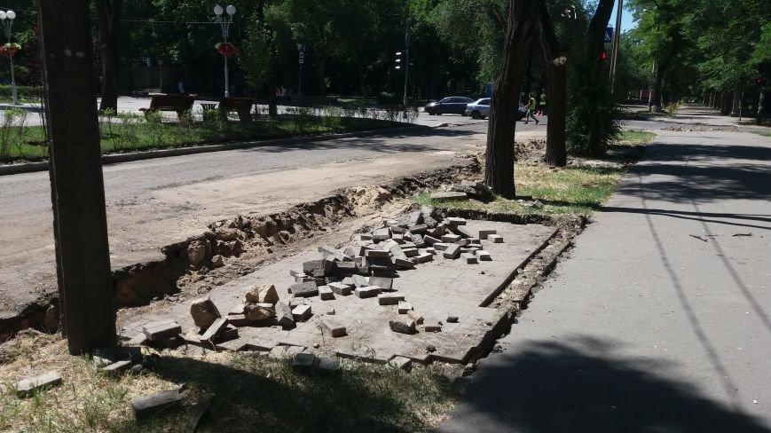 Как на проспекте Маяковского в Запорожье ремонтируют дорогу за 6 миллионов гривен, – ФОТОРЕПОРТАЖ, фото-7
