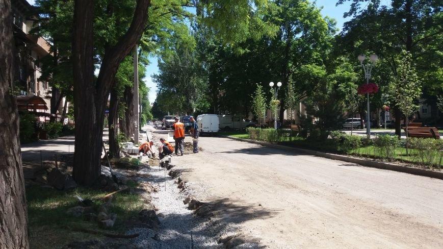 Как на проспекте Маяковского в Запорожье ремонтируют дорогу за 6 миллионов гривен, – ФОТОРЕПОРТАЖ, фото-13