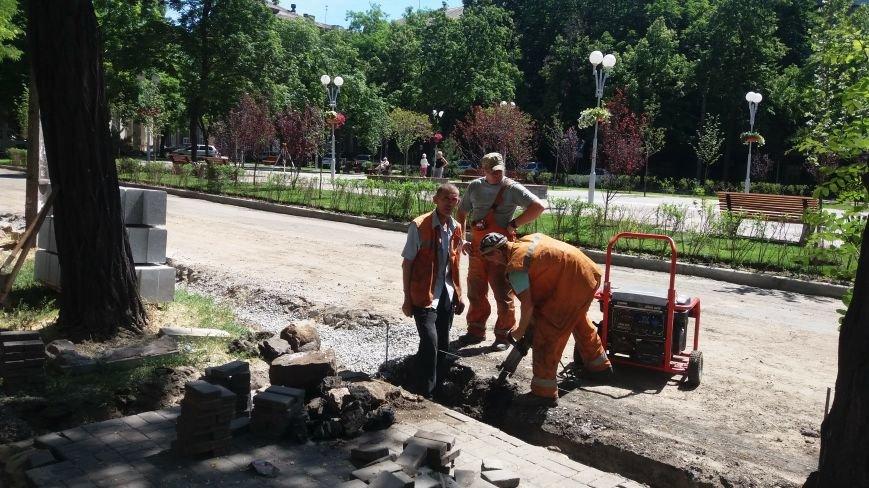 Как на проспекте Маяковского в Запорожье ремонтируют дорогу за 6 миллионов гривен, – ФОТОРЕПОРТАЖ, фото-12