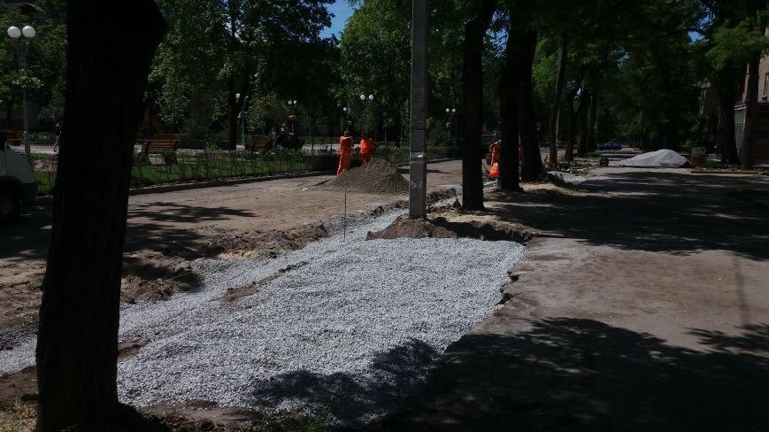 Как на проспекте Маяковского в Запорожье ремонтируют дорогу за 6 миллионов гривен, – ФОТОРЕПОРТАЖ, фото-11
