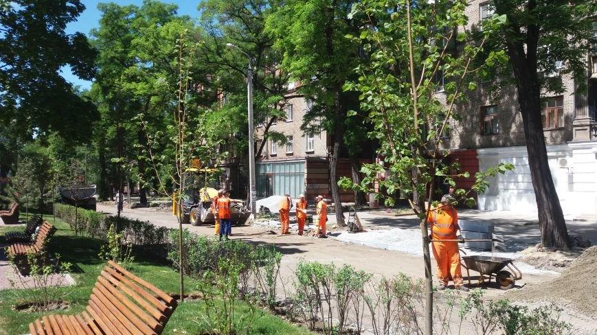 Как на проспекте Маяковского в Запорожье ремонтируют дорогу за 6 миллионов гривен, – ФОТОРЕПОРТАЖ, фото-2