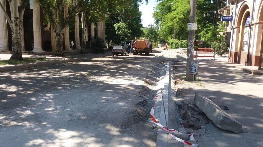 Как на проспекте Маяковского в Запорожье ремонтируют дорогу за 6 миллионов гривен, – ФОТОРЕПОРТАЖ, фото-19