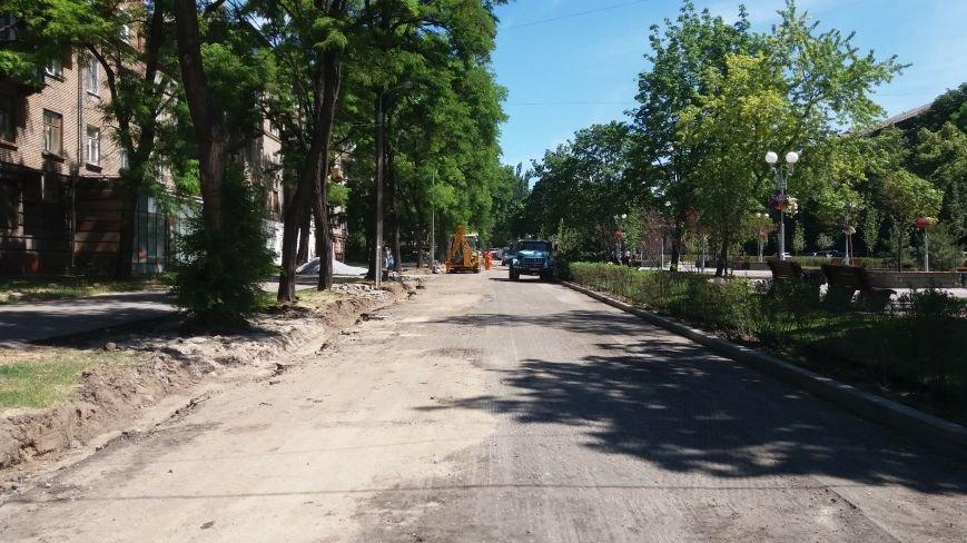 Как на проспекте Маяковского в Запорожье ремонтируют дорогу за 6 миллионов гривен, – ФОТОРЕПОРТАЖ, фото-6