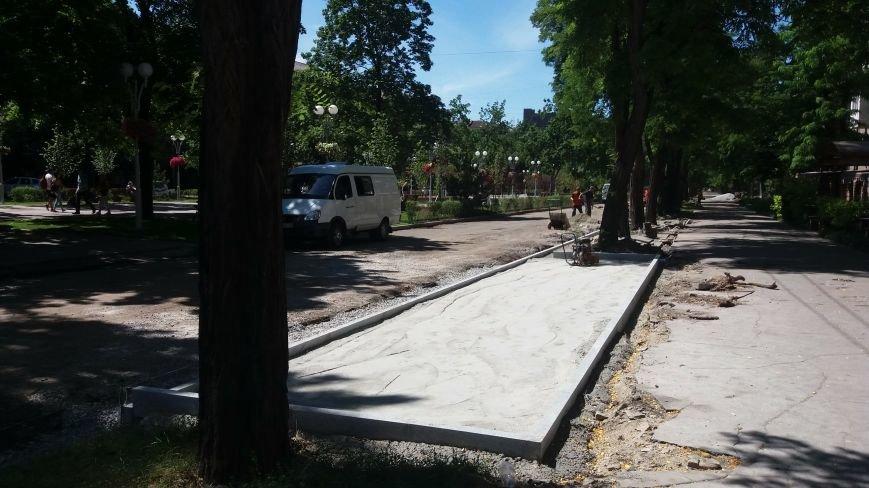 Как на проспекте Маяковского в Запорожье ремонтируют дорогу за 6 миллионов гривен, – ФОТОРЕПОРТАЖ, фото-16