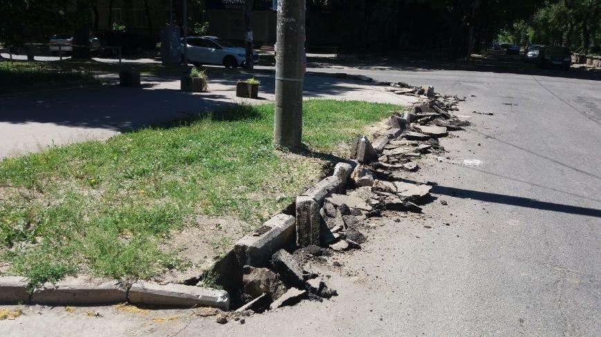 Как на проспекте Маяковского в Запорожье ремонтируют дорогу за 6 миллионов гривен, – ФОТОРЕПОРТАЖ, фото-5