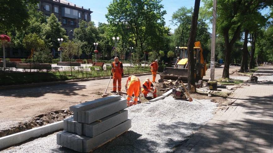 Как на проспекте Маяковского в Запорожье ремонтируют дорогу за 6 миллионов гривен, – ФОТОРЕПОРТАЖ, фото-10