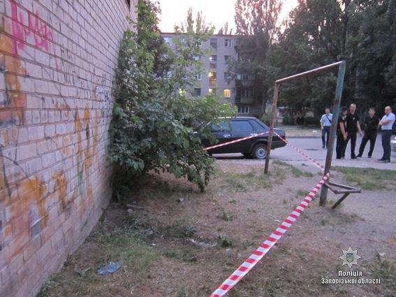 Ранее судимый запорожец жестоко избил полицейского