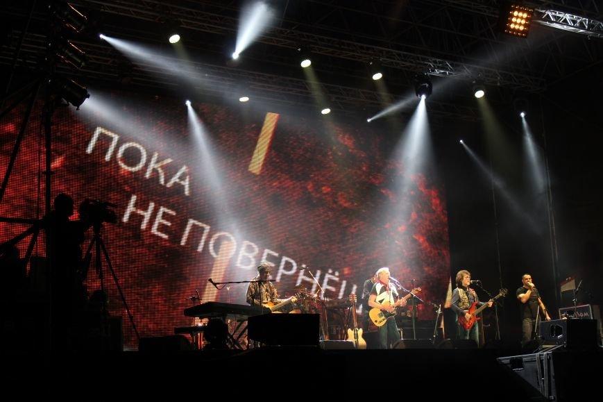 """""""Машина времени"""" выступила в Запорожье: как это было, - ФОТО, ВИДЕО, фото-17"""