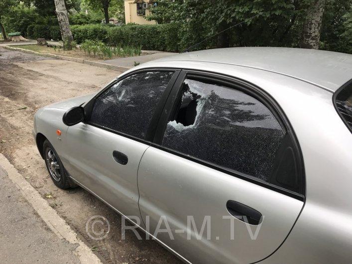 В Мелитополе разбили стекла в судейской машине, - ФОТО, фото-2