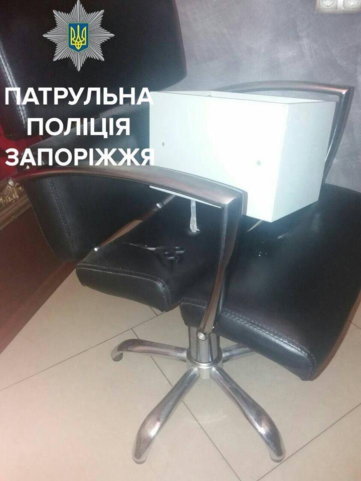 В Запорожье мужчина пытался ограбить парикмахерскую, - ФОТО, фото-4