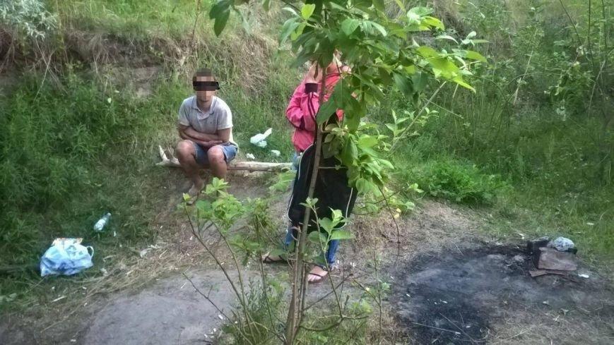 В Солоницевке трое местных жителей варили наркотики в лесополосе (ФОТО), фото-3