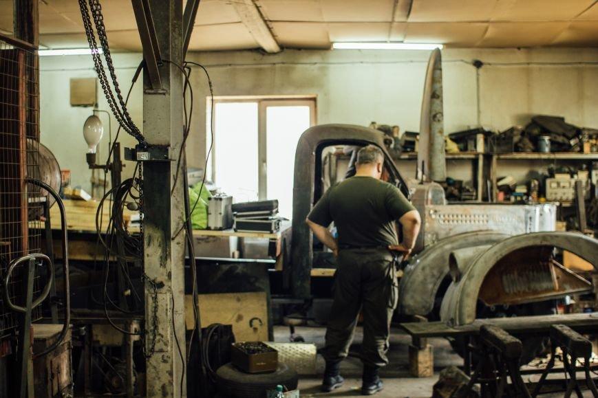 Поставить на колеса. Как в Запорожье восстанавливают технику для АТО, — ФОТОРЕПОРТАЖ, фото-4