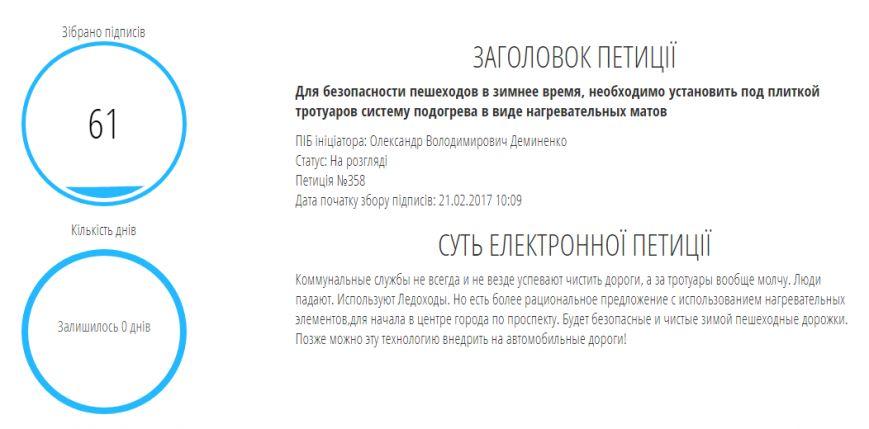 """Подогрев тротуаров, памятник коту Ваське и """"рояли для людей"""": ТОП-10 самых странных петиций запорожцев, фото-1"""