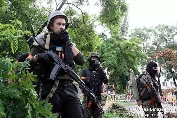 командир полка азов билецкий