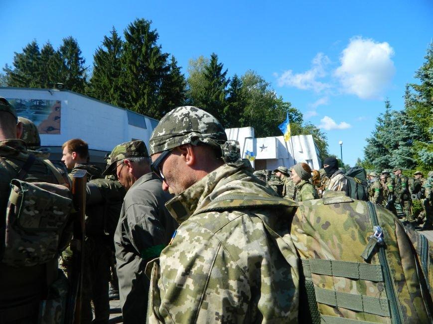 Наши в лесу. Мариупольцы прошли первые всеукраинские учения отрядов теробороны, фото-2