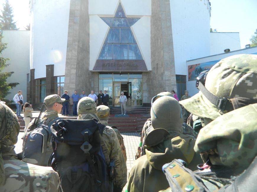Наши в лесу. Мариупольцы прошли первые всеукраинские учения отрядов теробороны, фото-1
