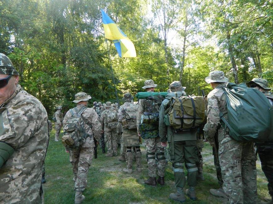 Наши в лесу. Мариупольцы прошли первые всеукраинские учения отрядов теробороны, фото-11