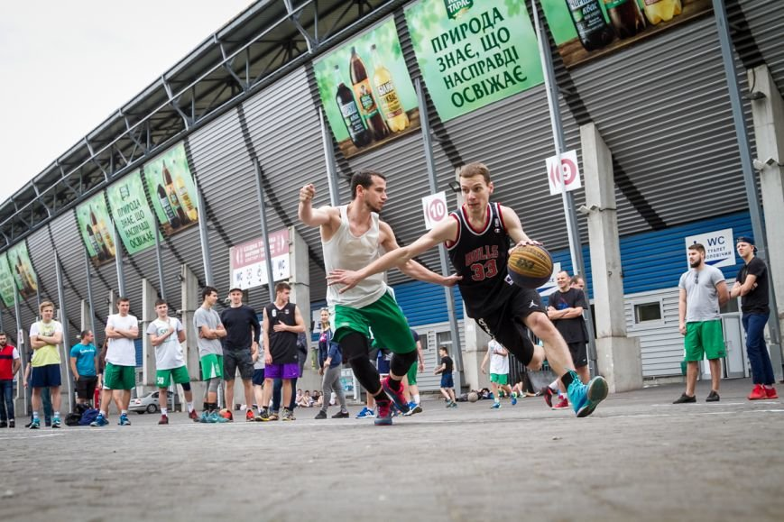 В Запорожье на футбольной арене соревновались стритболисты, фото-5