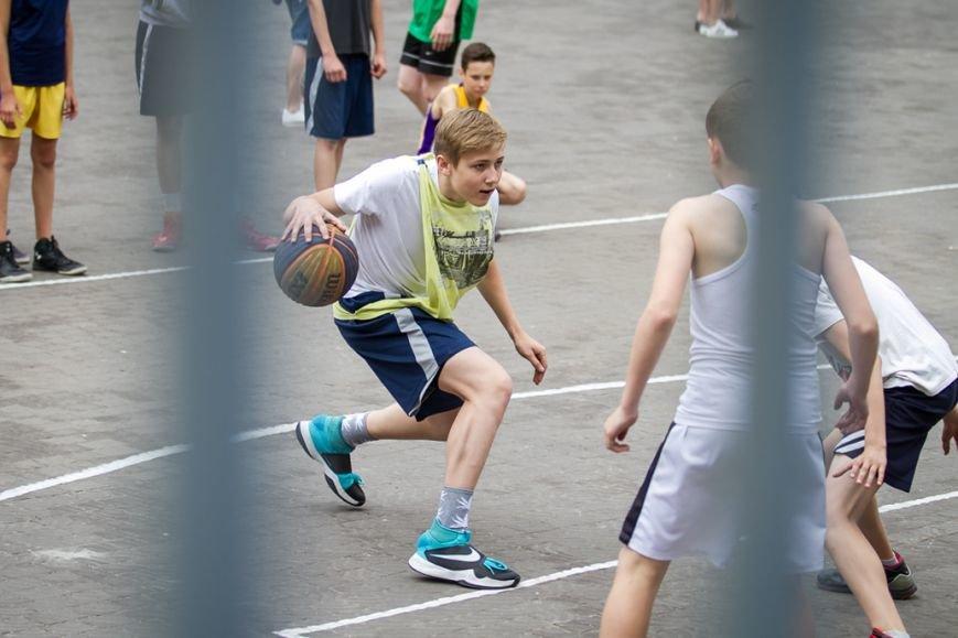 В Запорожье на футбольной арене соревновались стритболисты, фото-4