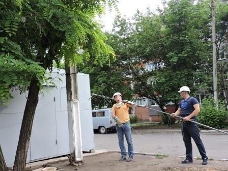 В мариупольском поселке убрали торговые точки (ФОТО), фото-1