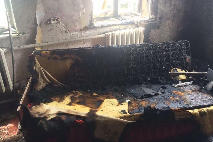 Из-за короткого замыкания в Дергачевском районе загорелся дом (ФОТО), фото-1