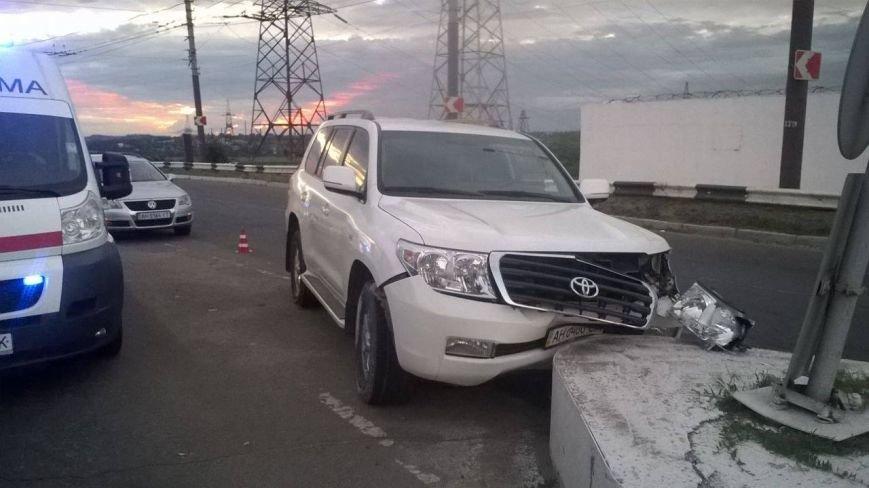 Мариупольский чиновник попал в ДТП (ФОТО), фото-2