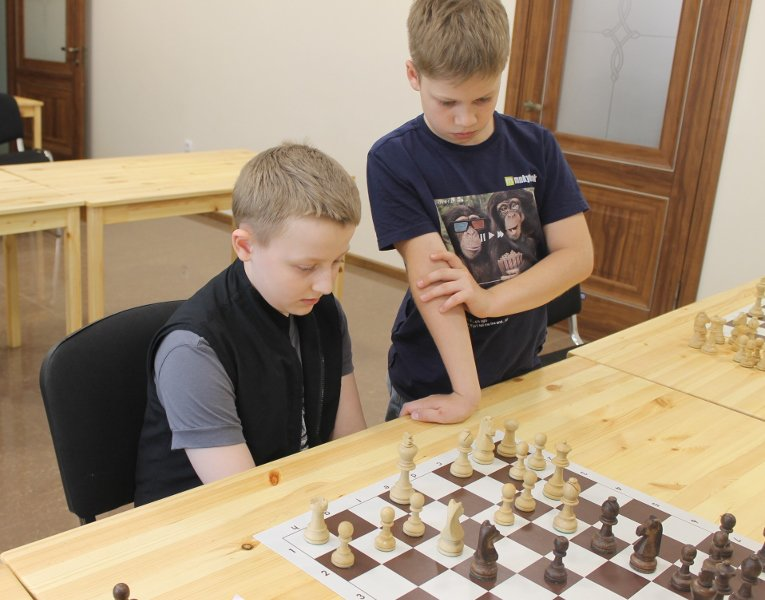 Ветераны ростовских шахмат передают свой опыт юниорам, фото-9