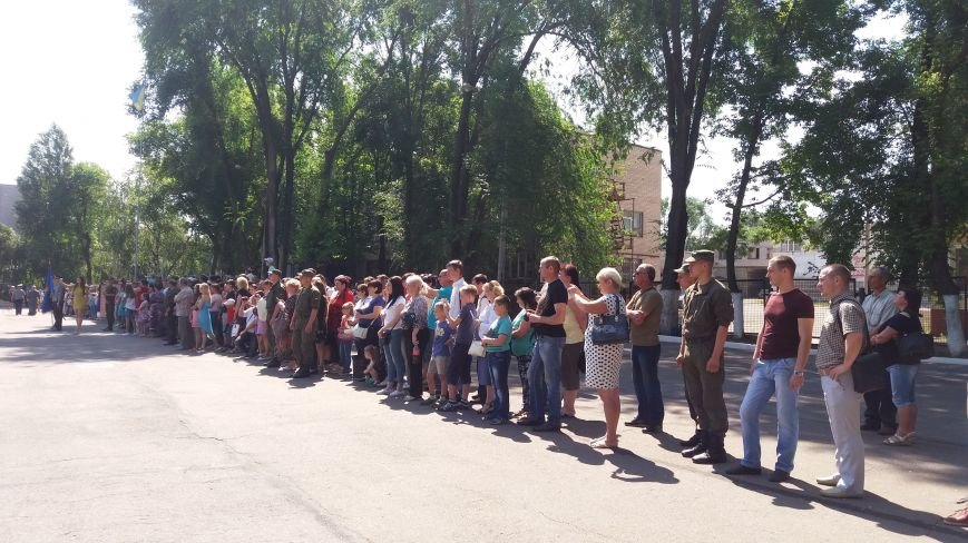 В Запорожье 150 нацгвардейцев-срочников присягнули на верность Украине, фото-7