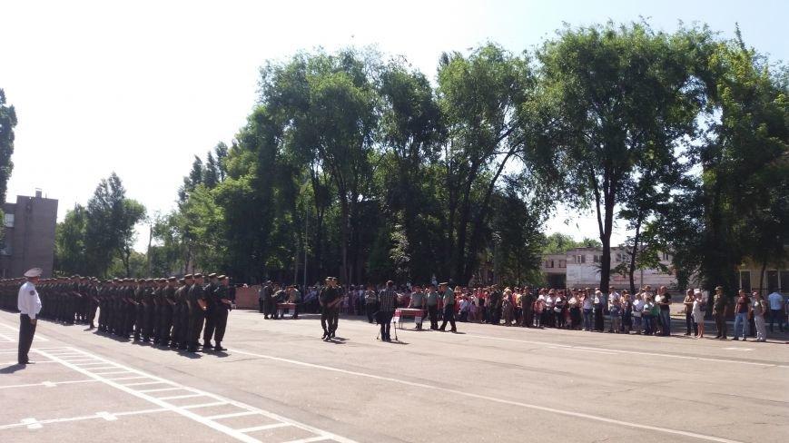 В Запорожье 150 нацгвардейцев-срочников присягнули на верность Украине, фото-6