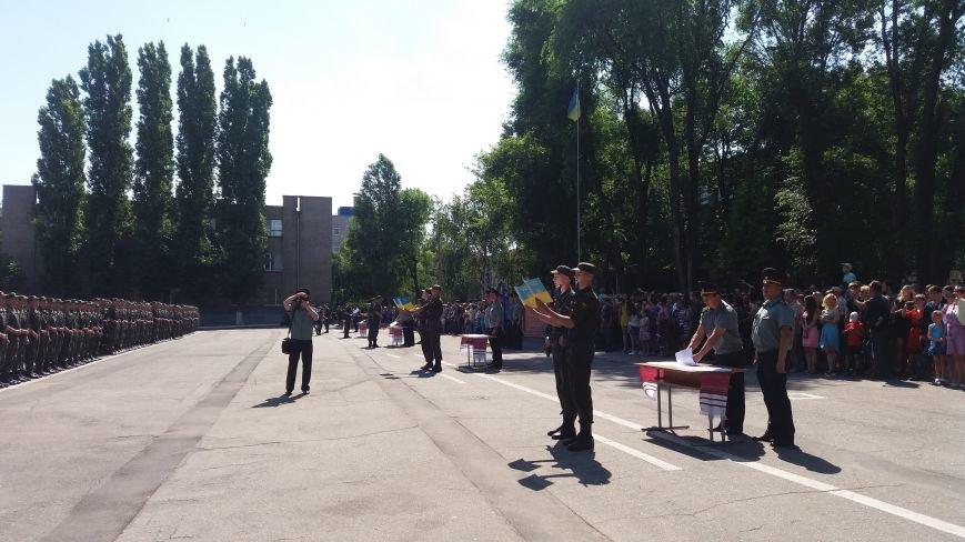 В Запорожье 150 нацгвардейцев-срочников присягнули на верность Украине, фото-3