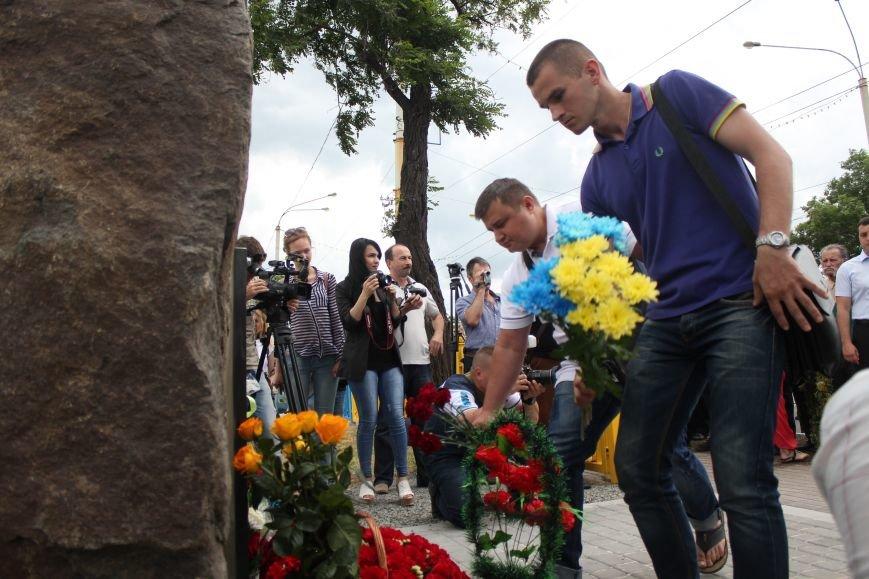 В Мариуполе открыли памятник погибшим пограничникам (ФОТО), фото-26