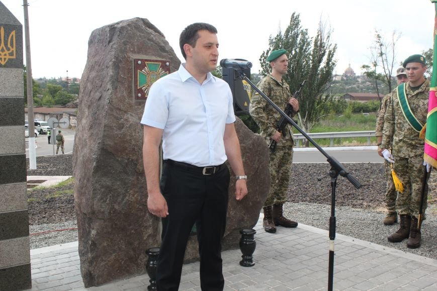В Мариуполе открыли памятник погибшим пограничникам (ФОТО), фото-7
