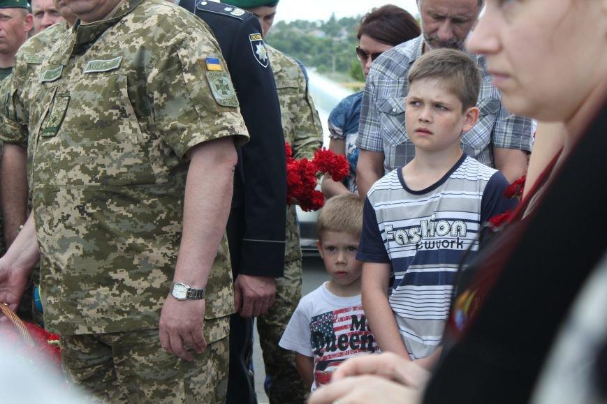 В Мариуполе открыли памятник погибшим пограничникам (ФОТО), фото-16