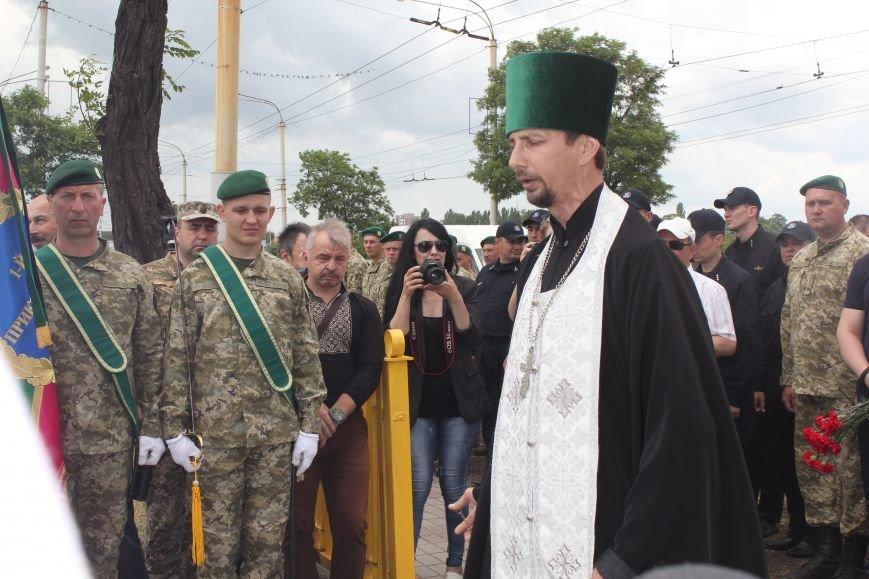 В Мариуполе открыли памятник погибшим пограничникам (ФОТО), фото-15