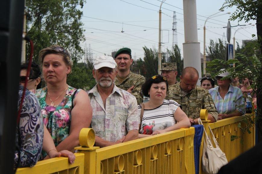 В Мариуполе открыли памятник погибшим пограничникам (ФОТО), фото-14