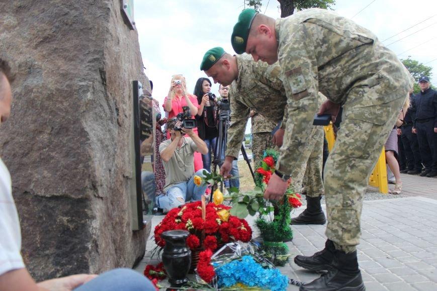 В Мариуполе открыли памятник погибшим пограничникам (ФОТО), фото-22