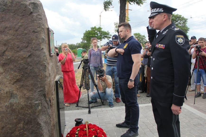 В Мариуполе открыли памятник погибшим пограничникам (ФОТО), фото-19