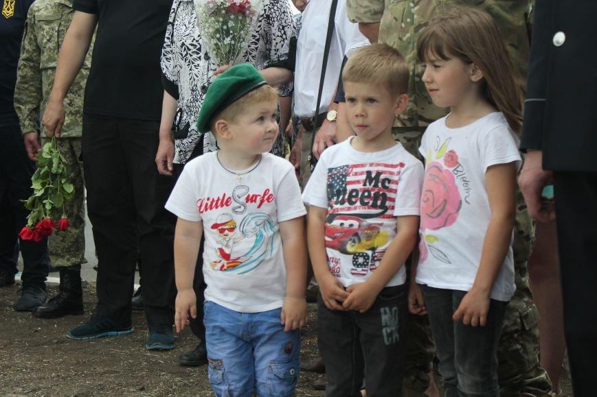 В Мариуполе открыли памятник погибшим пограничникам (ФОТО), фото-27