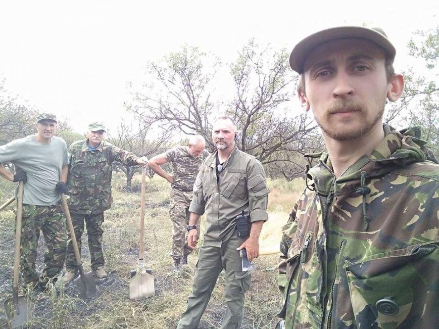 В Запорожье снова тушили пожар на Хортице, - ФОТО, ВИДЕО, фото-1