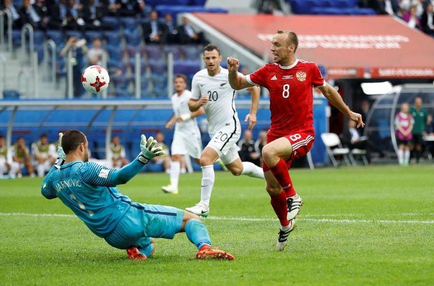 Виктория Лопырева и Денис Глушаков стали главными лицами открытия Кубка Конфедераций 2018, фото-2