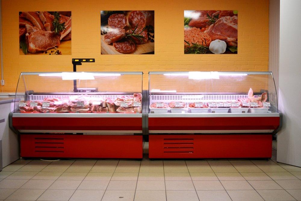 «Утром собирается очередь»: в Новополоцке открылся мясной магазин ОАО «Шайтерово», фото-2