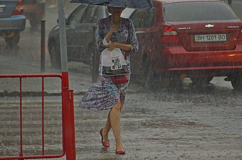 У природы нет другой погоды: Одессу накрыл мощный ливень (ФОТО), фото-8