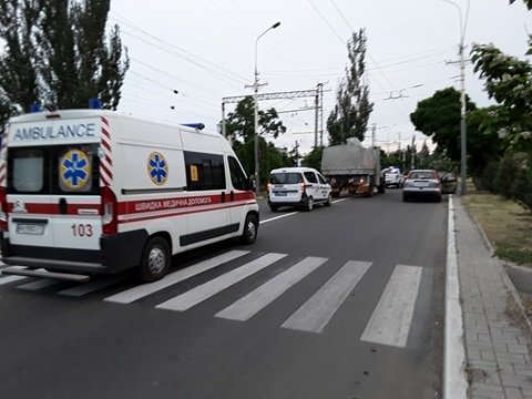 "В Мариуполе взорвался снаряд от гранатомета. Пострадали 7 полицейских из ""Чернигова"" (ФОТО,ВИДЕО,ДОПОЛНЯЕТСЯ), фото-2"