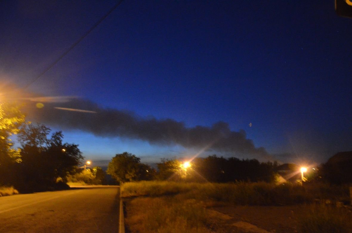 """Загадочный дым над Мариуполем, или как """"травят"""" горожан под покровом ночи (ФОТО), фото-8"""